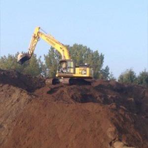 Verkoop van zand mengkorrel en andere bouwmaterialen